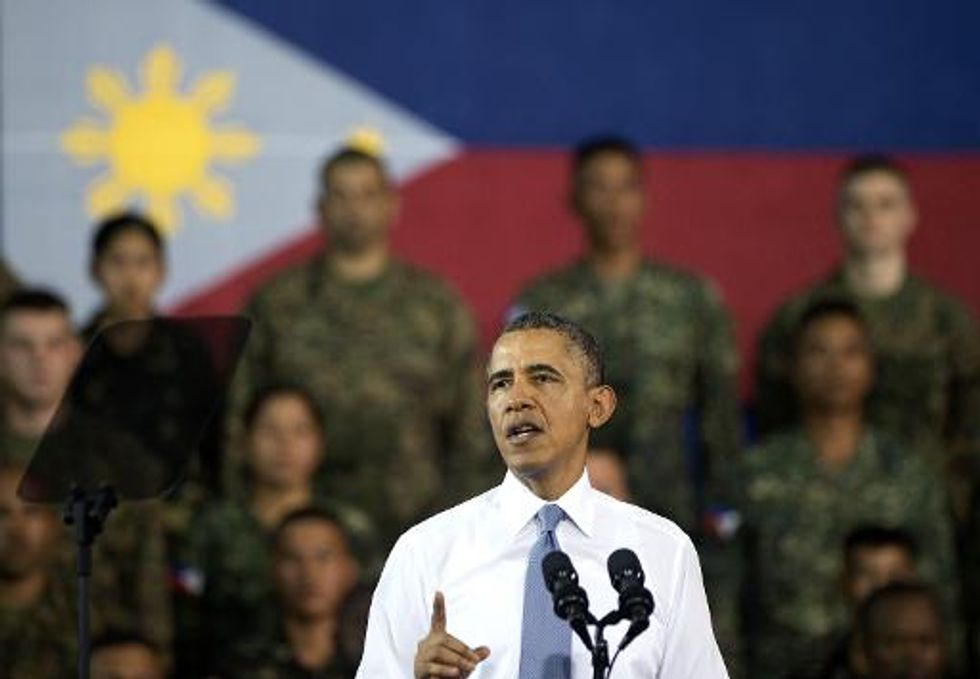 Obama ignites Chinese anger as he warns against use of force on American allies