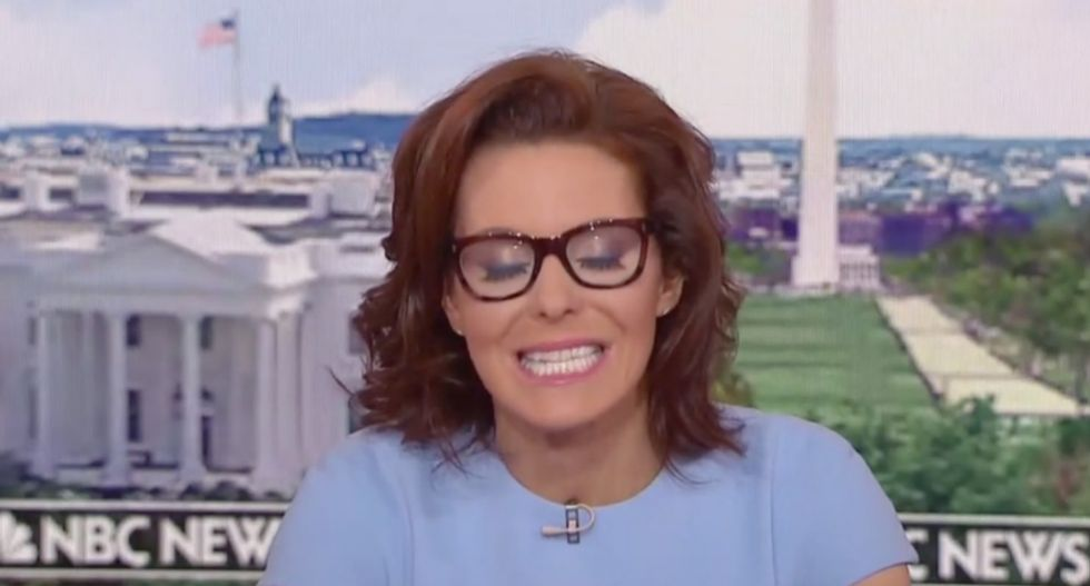 MSNBC's Stephanie Ruhle unloads on Trump after his new Charlottesville remarks leave her visibly disgusted