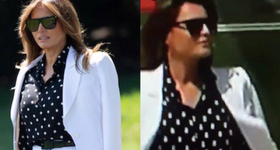 This distorted video has been convincing people that Melania Trump is using a body double