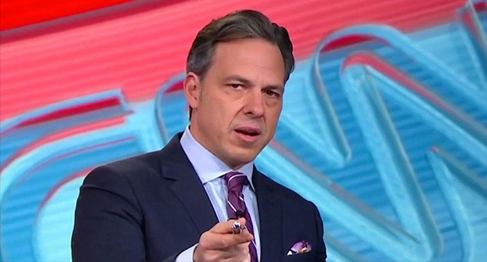 'Proof of a willingness to collude': Jake Tapper drops the hammer after reading Trump Jr's emails on air