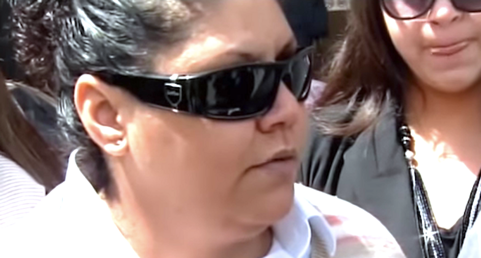 Texas cop gets community service for destroying woman's eyeballs with pepper spray because she 'annoyed' him
