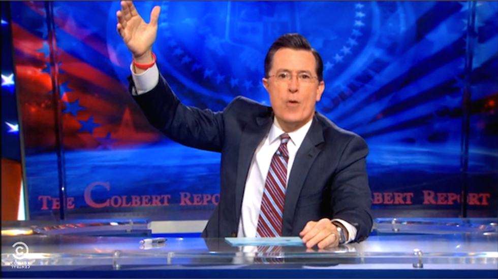 Colbert: Clemency for crack offenders unfair to GOP because bankers only snort cocaine