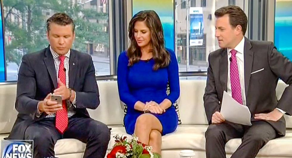 'It's actually genius': Fox hosts praise Trump's tweets revealing plans for 'cyber security unit' with Putin
