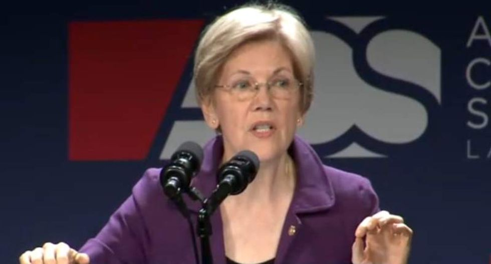 Elizabeth Warren breaks down the biggest Trump scandal you haven't heard about