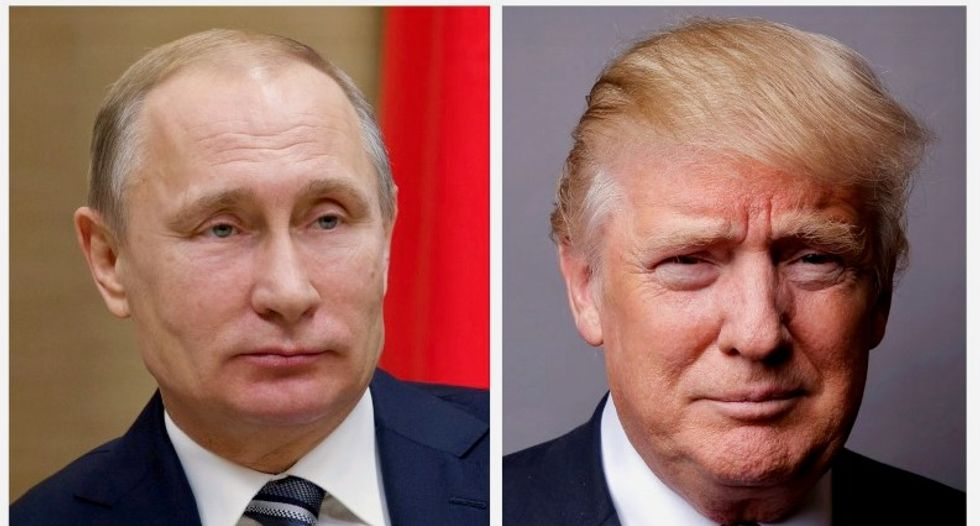 President Trump distances himself from his own comments he made about Putin and Russian meddling