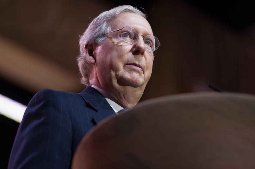 House Republicans appear worried that Mitch McConnell will betray them