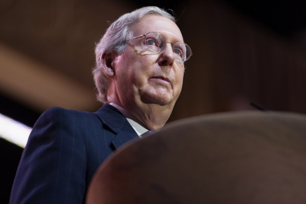 Here's how Democrats can unleash Trump to make Mitch McConnell's life a living hell