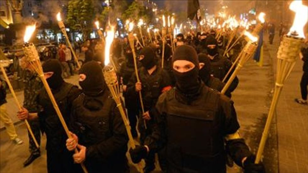 Violence flares in Ukraine as crisis deepens