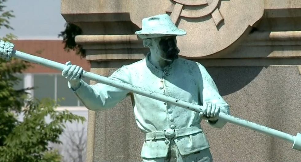 KY Confederate statue removal meeting goes off the rails when both sides accuse each other of racism