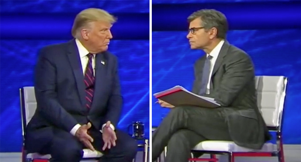 Here are 7 ridiculous moments from Trump's town hall train wreck