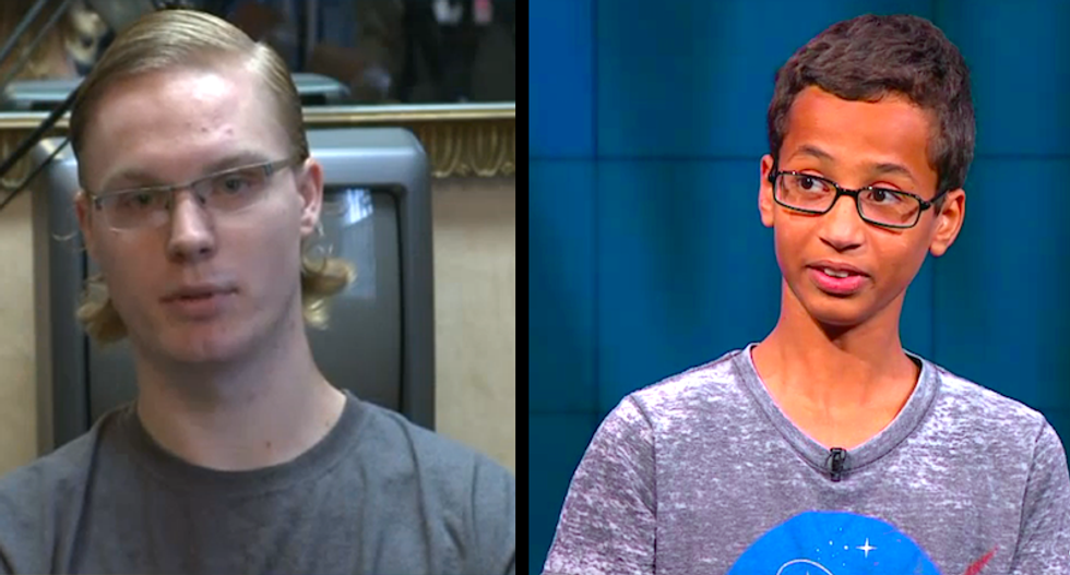 This white teen just invented a horrifying new weapon—and his dad is trying to hide it from the feds