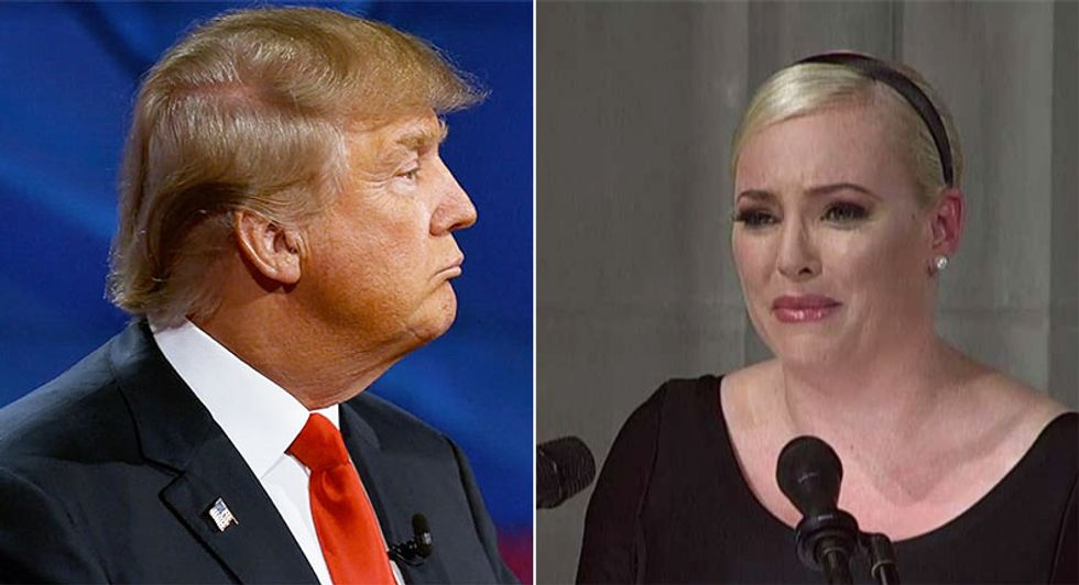 Trump fans accuse grieving Meghan McCain of being 'trashy' for 'America was always great' eulogy comment
