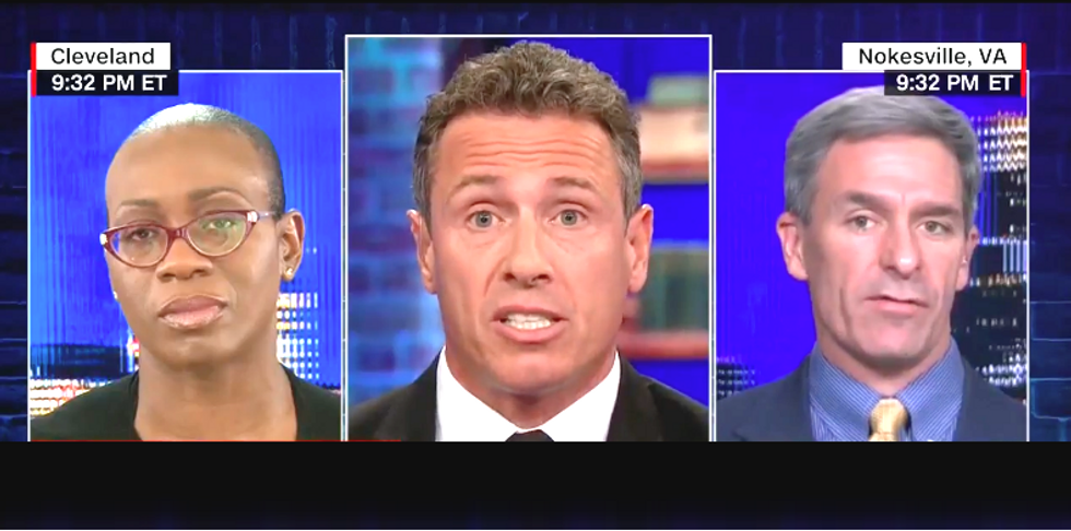 CNN's Chris Cuomo hammers Republican who tries to claim Donald Trump is 'good for black people' because of prison reform