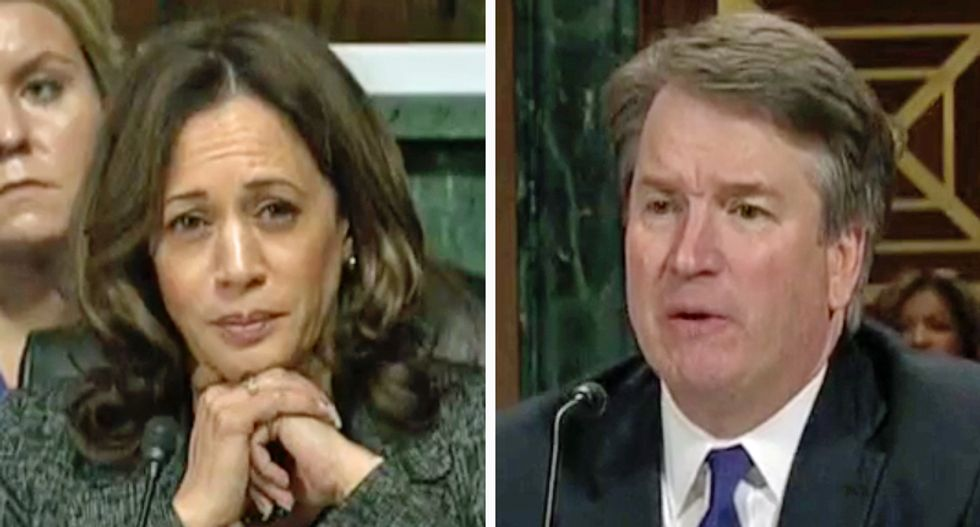Kavanaugh admits he didn't even watch Blasey Ford's testimony