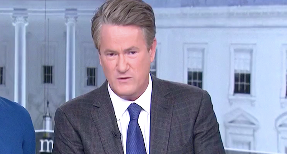 'Come at me': Morning Joe challenges 'pro-lifers' to defend Kavanaugh's snub of grieving Parkland dad