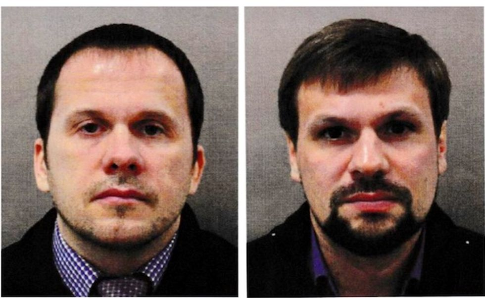 UK names two Russians for attempted murder of Skripals with nerve agent