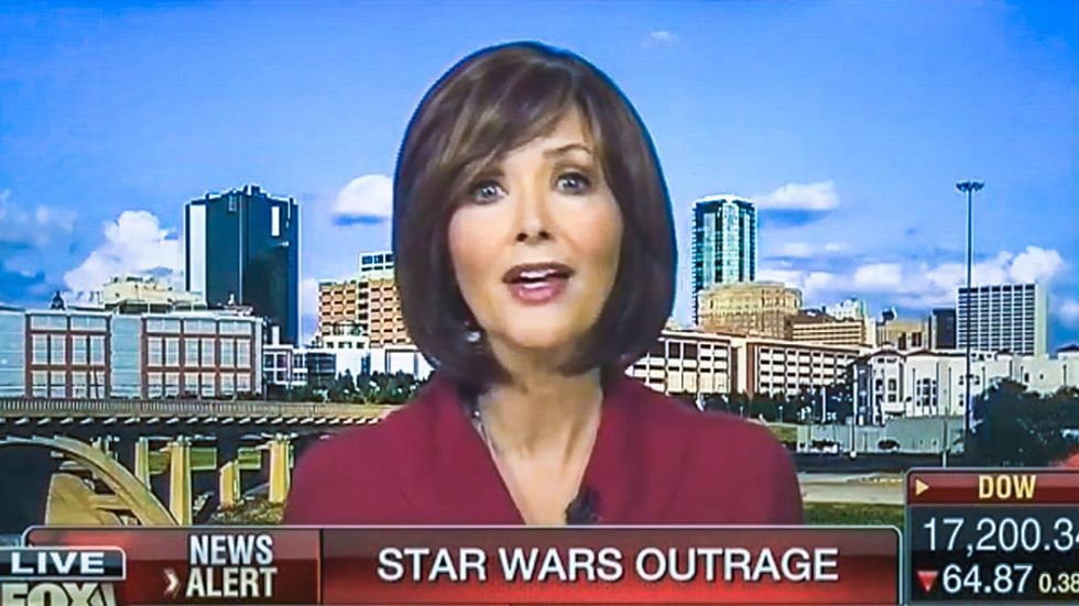 Conservative actress tells Fox: Darth Vader is black because it's in the Bible and 'Jesus talks about it'