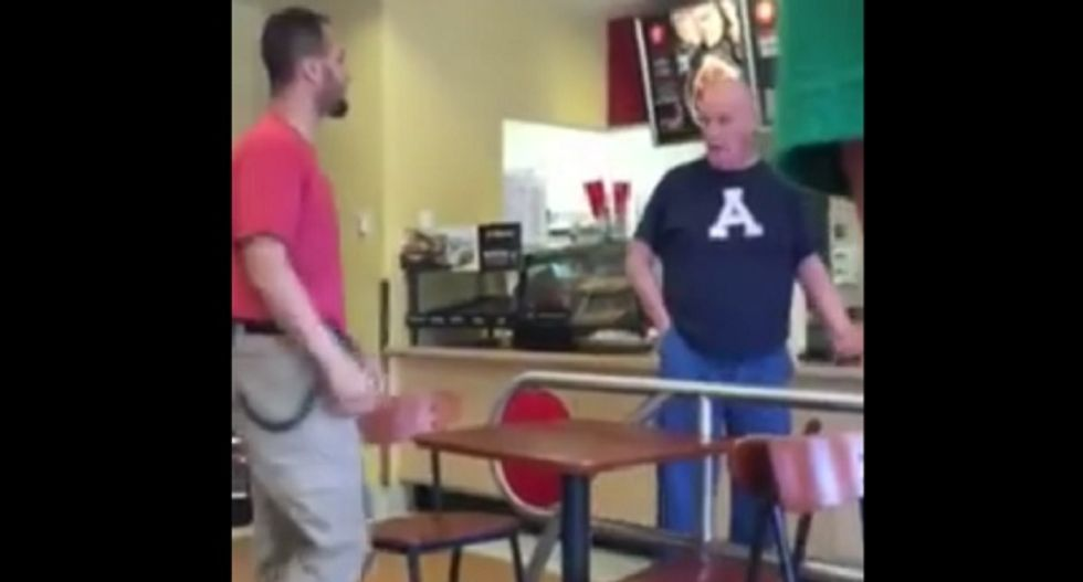 WATCH: Target customers completely own angry man who called breastfeeding mom 'whore'
