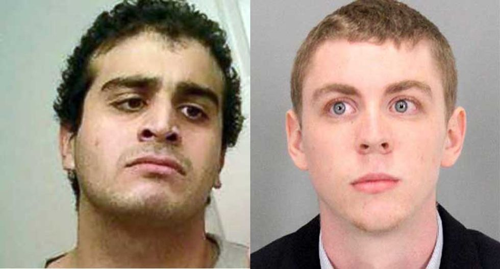 Toxic masculinity: The Stanford rapist and the Orlando shooter are two sides of the same bent coin