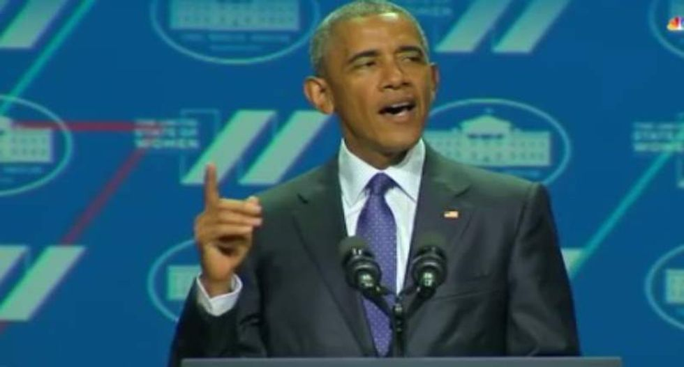 Obama says he's a feminist -- and Twitter nutters respond with homophobic rants