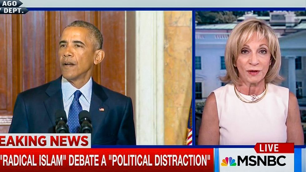 Andrea Mitchell: President Obama 'just eviscerated Donald Trump in that extraordinary speech'