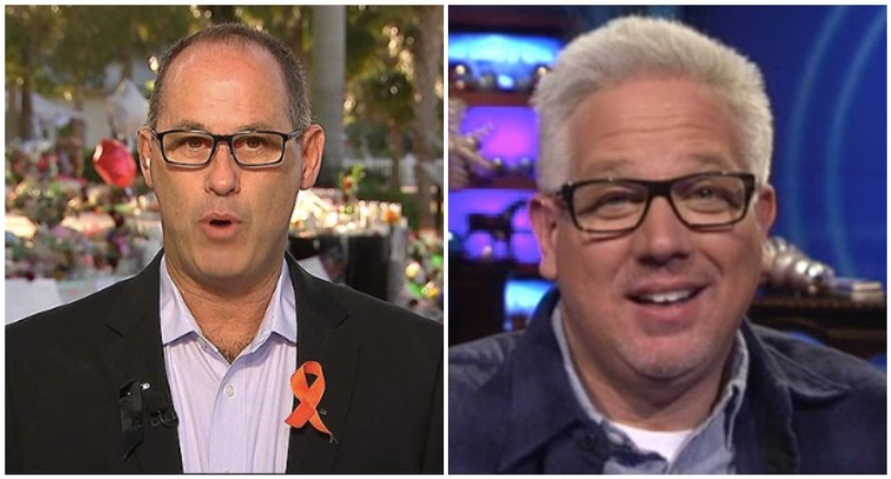 Parkland dad Fred Guttenberg shames Glenn Beck for questioning his motive for meeting Kavanaugh