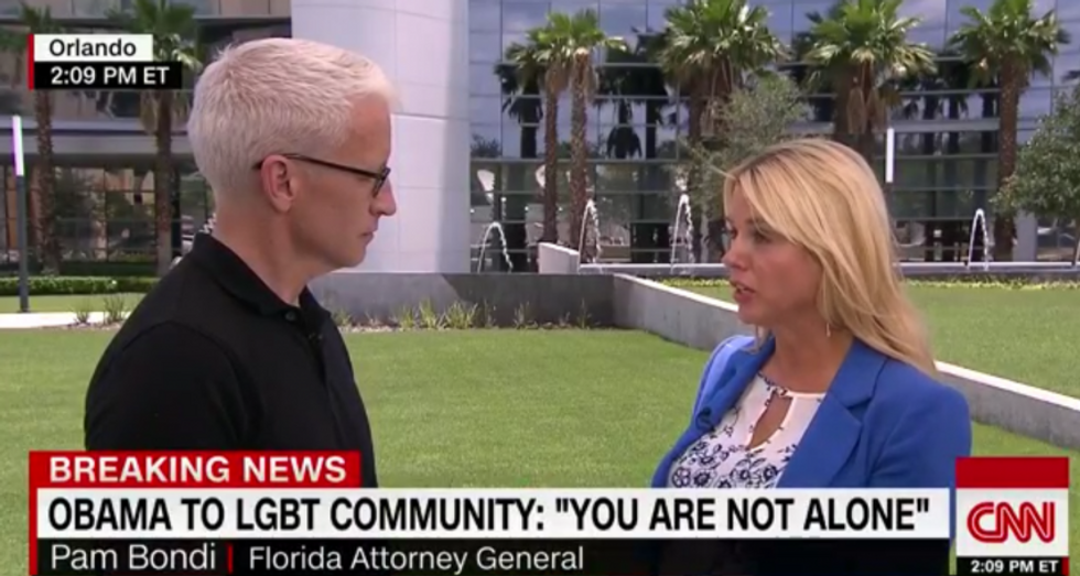 WATCH: Anderson Cooper nails gay-bashing Florida AG for her hypocritical embrace of LGBT community
