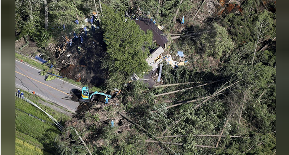 One killed, 32 missing after quake paralyzes Japan's Hokkaido island