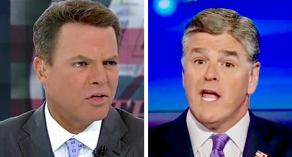 'Sometimes facts are displeasing': Shep Smith hits back at Sean Hannity for whining about his Trump coverage