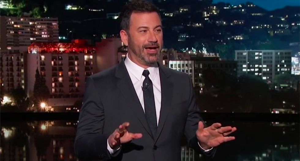 Watch Jimmy Kimmel hilariously pile on Mike Pence as the supposed writer of the NYT anonymous op-ed