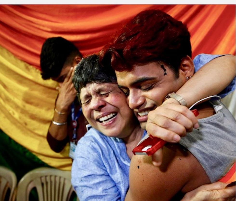 India throws out ban on gay sex, sparking celebrations