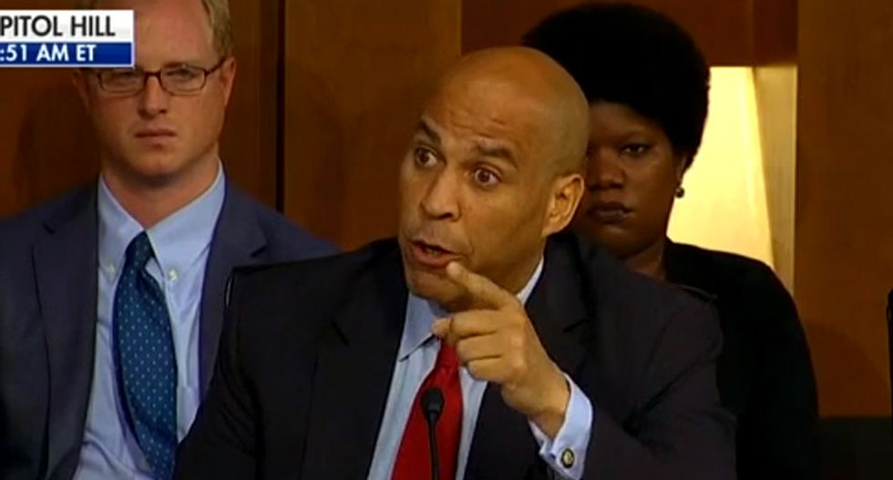 Michigan man arrested after threat to 'put a gun to Cory Booker's face'