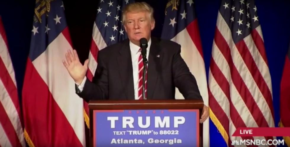 Trump just gave a batsh*t insane speech -- here are his 5 craziest statements