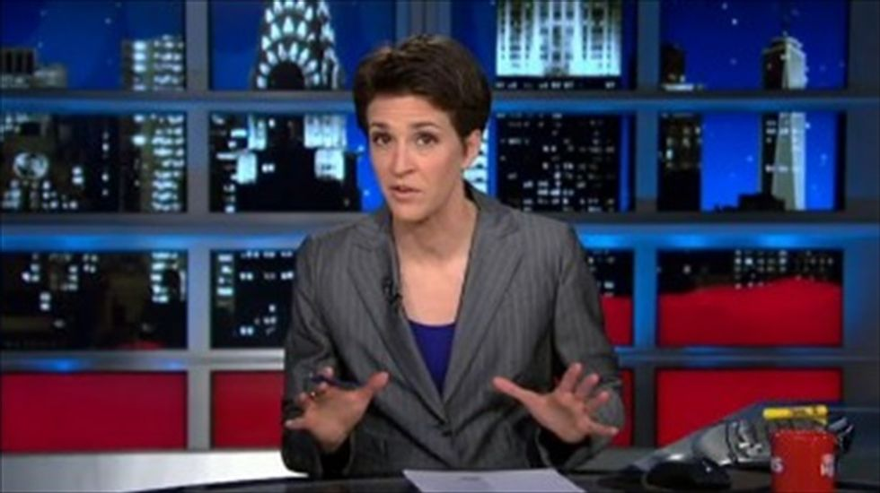 Rachel Maddow: Oregon's GOP chair wants your urine in the mail, twice a year