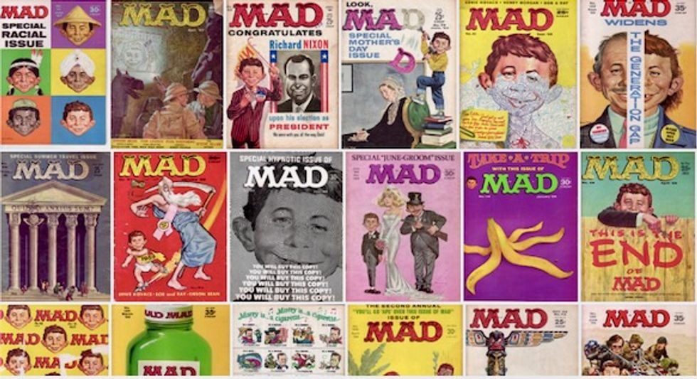 Mad Magazine is finished, but its ethos matters more than ever before