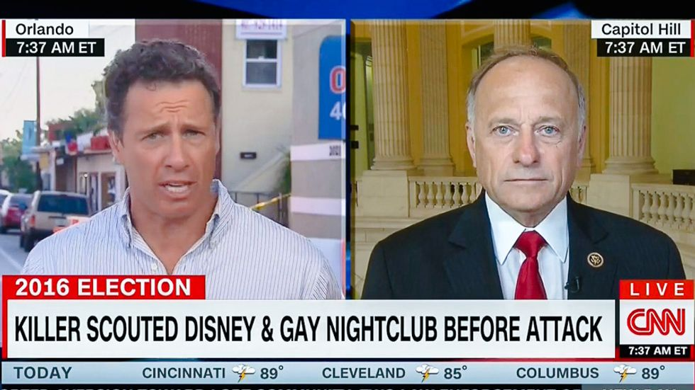 Rep. Steve King backs full gun rights for terror suspects: It's 'their right to defend themselves'