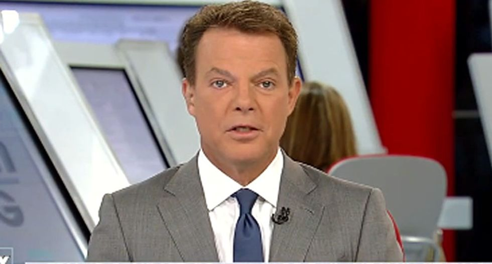 'Republicans don't mind coming on Fox News': Shep Smith reveals no GOPer would defend Trump's presser