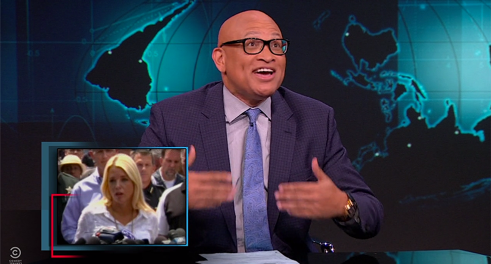 Larry Wilmore cheers Anderson Cooper's takedown of Pam Bondi: 'Way to do your job, man!'