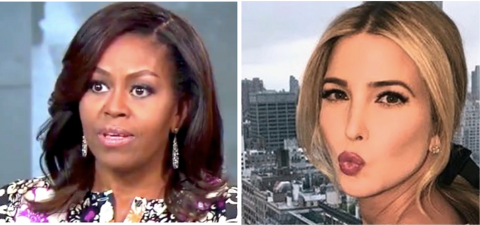 'They'll do anything to undo what the Obamas did': The View slams Ivanka over junk food Instagram post
