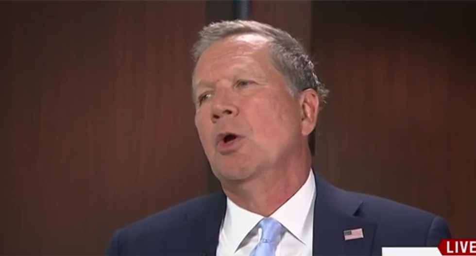 John Kasich refuses to board the Trump Train: 'I just can't do it'