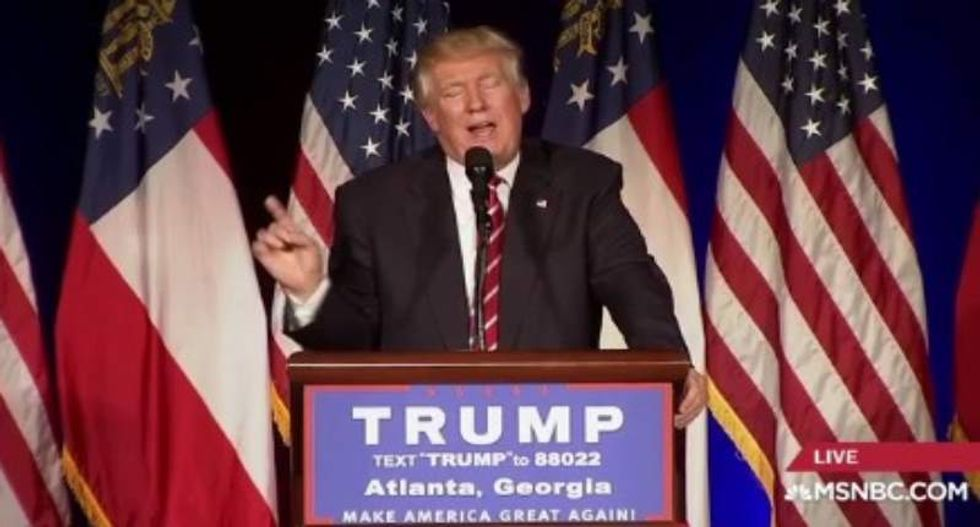 Donald Trump flippantly says #AskTheGays -- only to get roasted on Twitter
