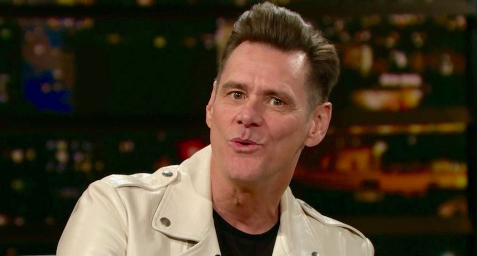 Jim Carrey doesn't care if his political paintings cost him Trump fans: 'Lose them'