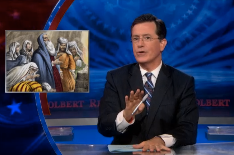 Colbert: Fox's Cavuto and 'expert' say Syria marks the start of the end times