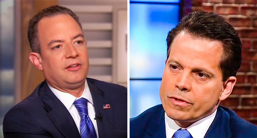 Scaramucci was out to get Reince Priebus for banishing him from the White House with smears: report