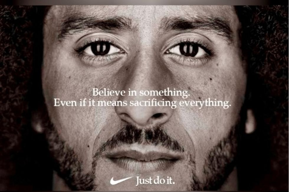 Nike's Colin Kaepernick ad spurs spike in sold out items
