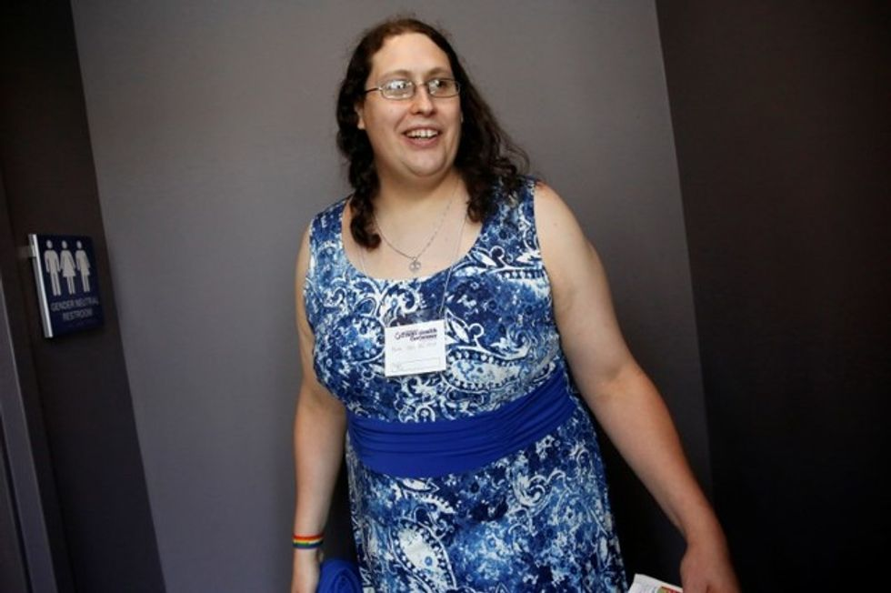 U.S. transgender woman's journey turns into constitutional fight