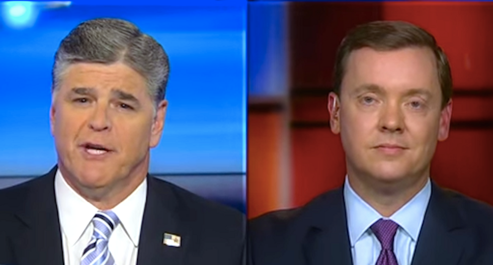 Hannity and NRA chief agree: Muslims and Democrats -- not guns -- cause mass shootings
