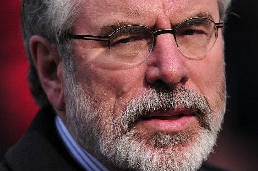 Northern Ireland republicans rally against Gerry Adams arrest