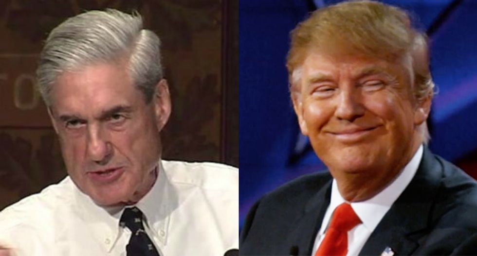 Trump refused to answer any obstruction questions from Mueller -- now his lawyers won't answer follow-ups