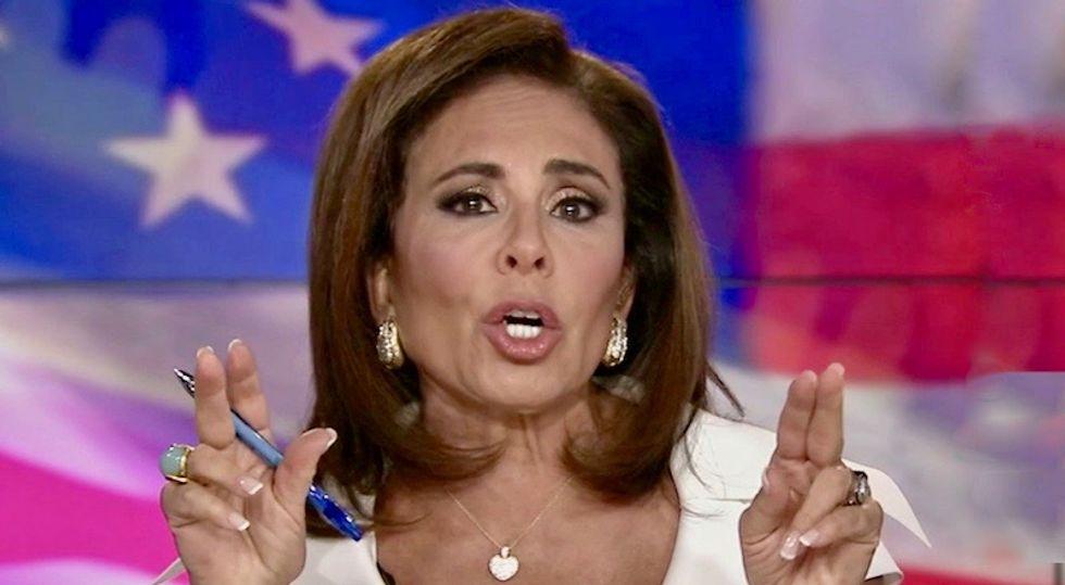 'Must've taken you 2 boxes of wine': Twitter mocks Jeanine Pirro after she admits false report on Nancy Pelosi